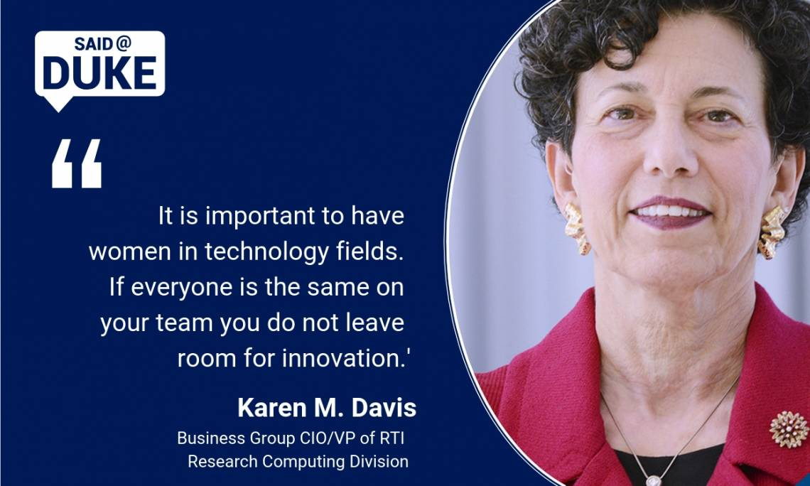 Said@Duke: Karen Davis on Women in STEM