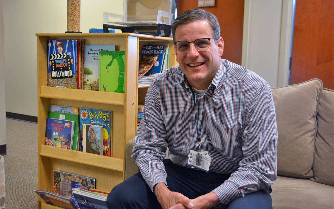 Scott Kollins researches the intersection of ADHD and substance abuse. Photo by Jonathan Black.