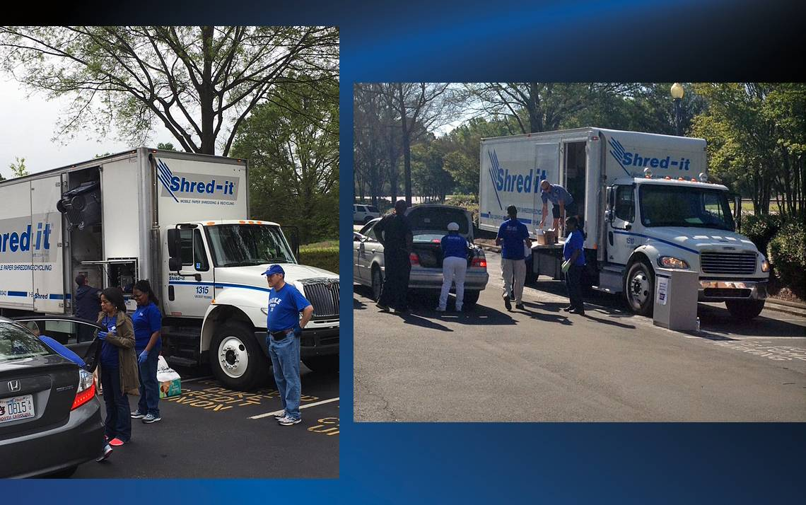 The Duke Credit Union will host a shred event from 9 a.m. to 1 p.m. on April 28 at its offices at 2200 West Main St.