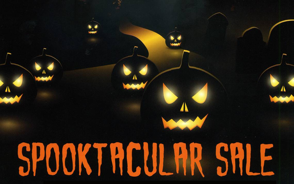 duke stores is holding its annual halloween sale on monday oct 31 - Halloween Sale