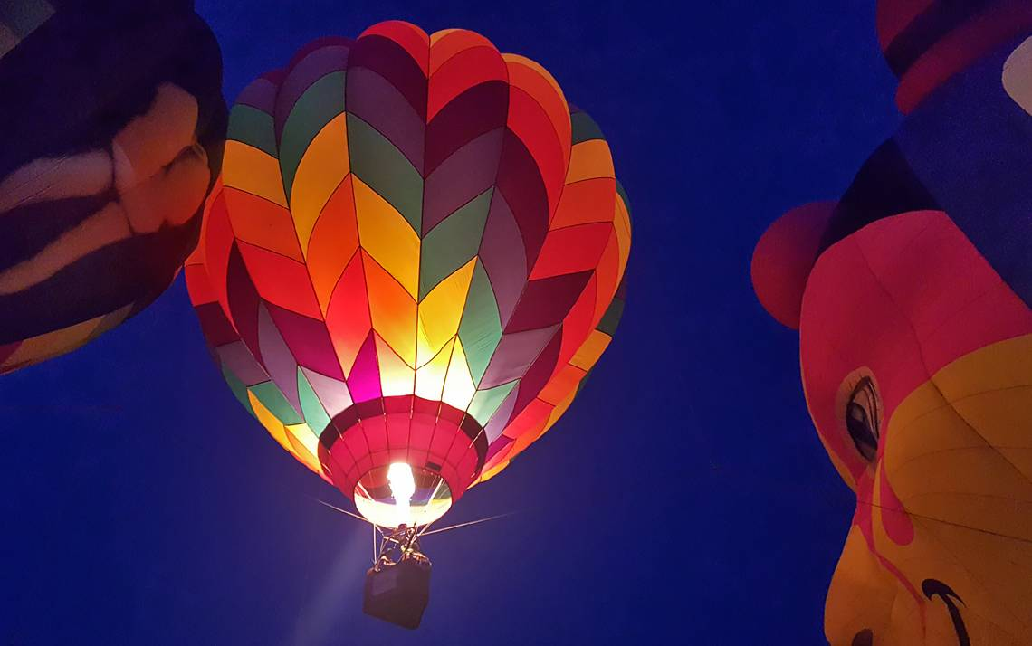 Kristine Almario, a clinical nurse in the Eye Center, submitted this picture from a balloon festival May 27 in Fuquay-Varina.