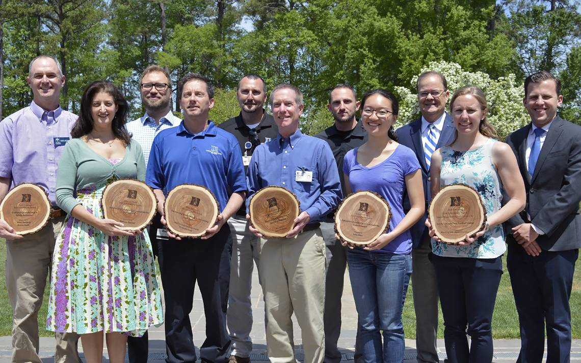 Sustainability Award winners in 2016.