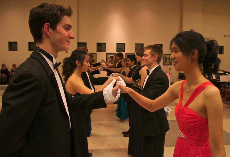 The Wind Symphony's Viennese Ball. Photo courtesy Duke Department of Music.