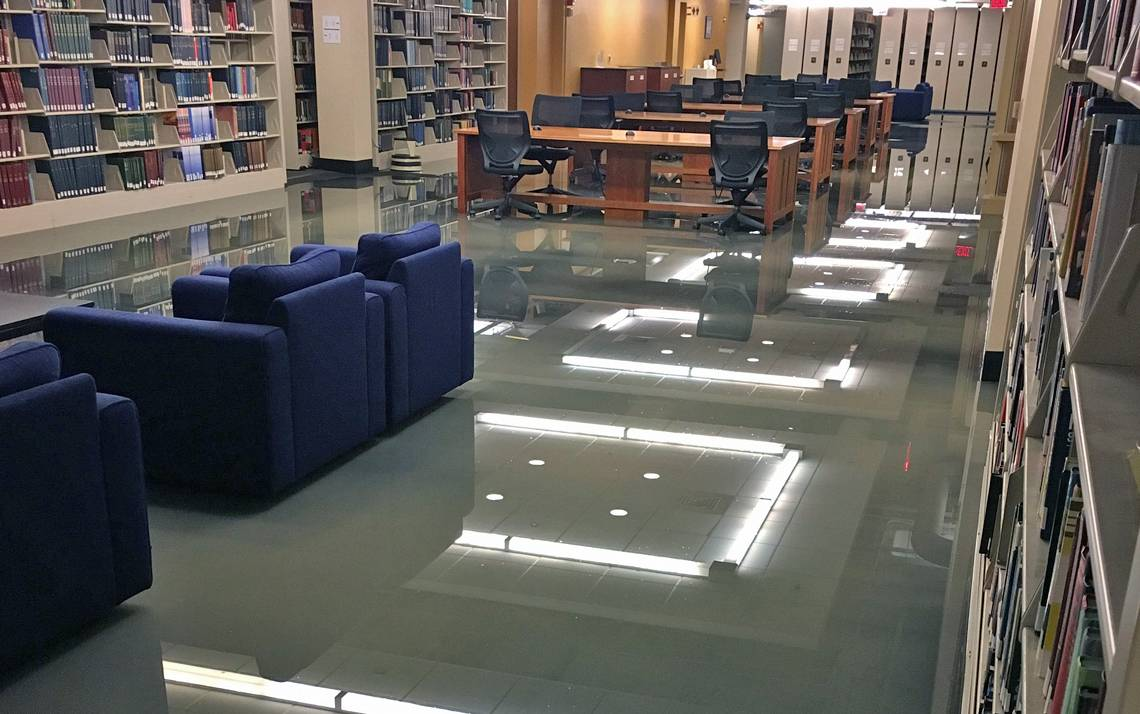 Lower Level 2 at Perkins Library.
