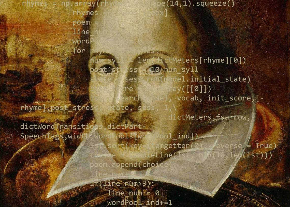 Could a computer write sonnets convincing enough to fool people into thinking they were written by human poets rather than machines? One Duke team created an algorithm to find out.