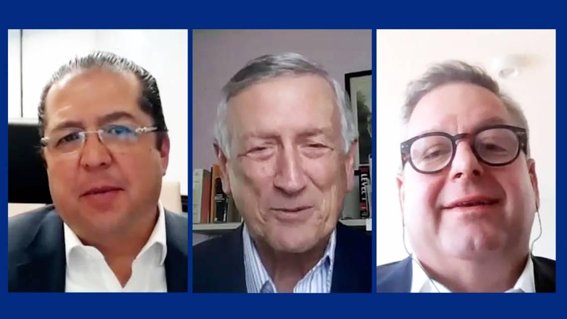 Jorge Torres, Gary Gereffi and Brian Brisson