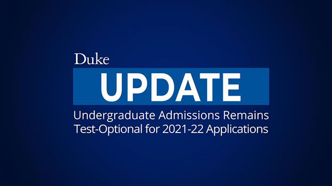 graphic for Duke admissions