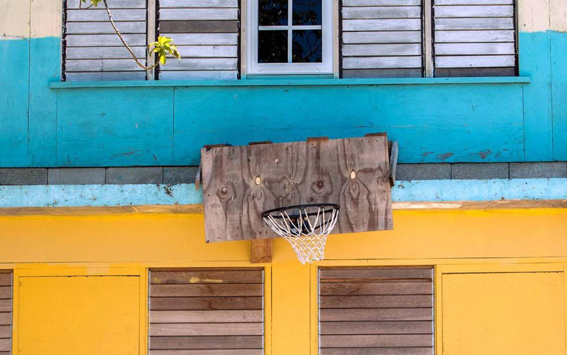 Photographer Bill Bamberger will have some of his images of basketball hoops around the world shown at an exhibit at the Nasher Museum of Art on January 18.