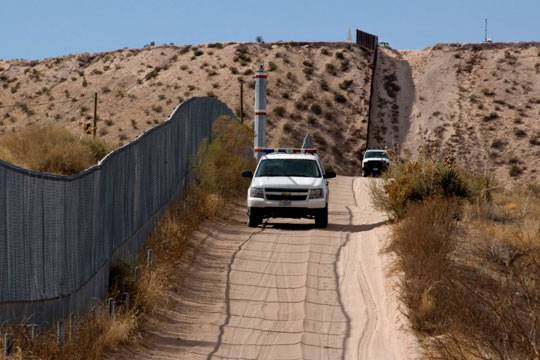 The US-Mexican border