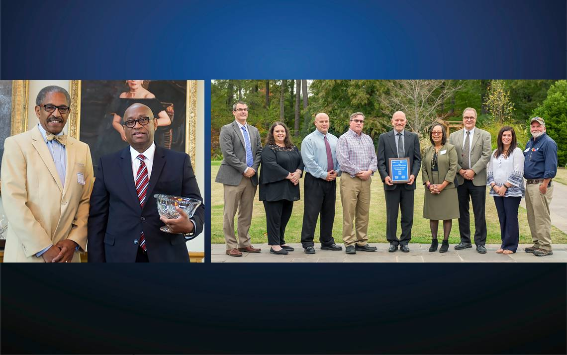 Winners of the 2016 Diversity and Teamwork Awards.
