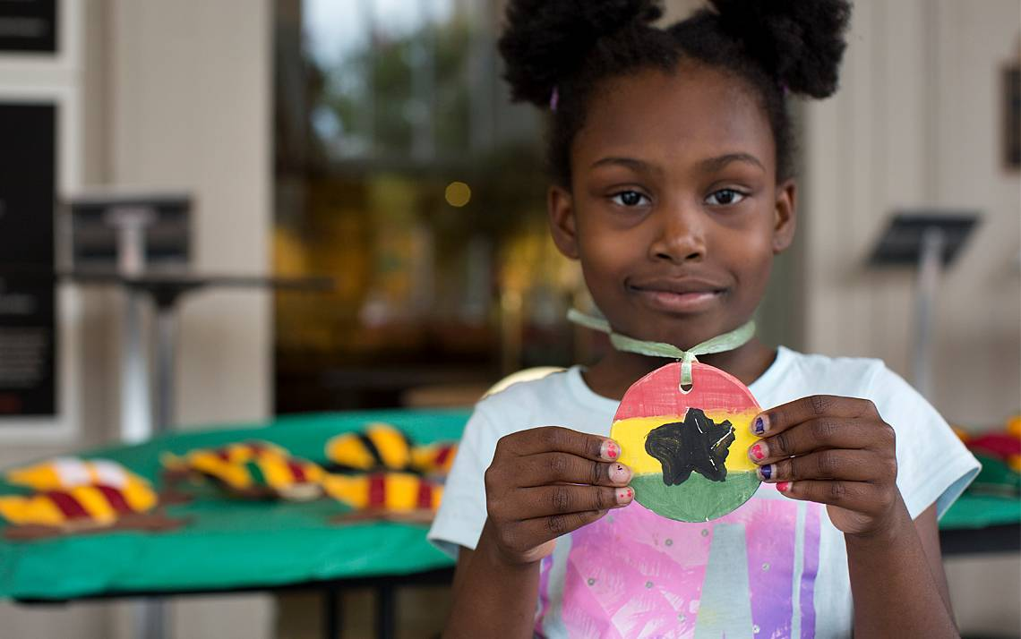 Duke employees get a 10 percent discount on summer camps and art classes at the Durham Arts Council. Photo courtesy of the Durham Arts Council.