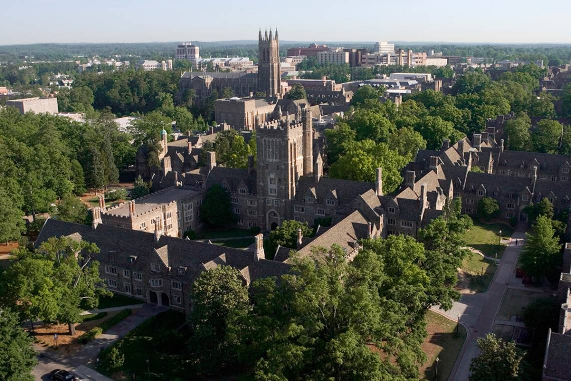 Campus Aerial photograph by Duke Photography
