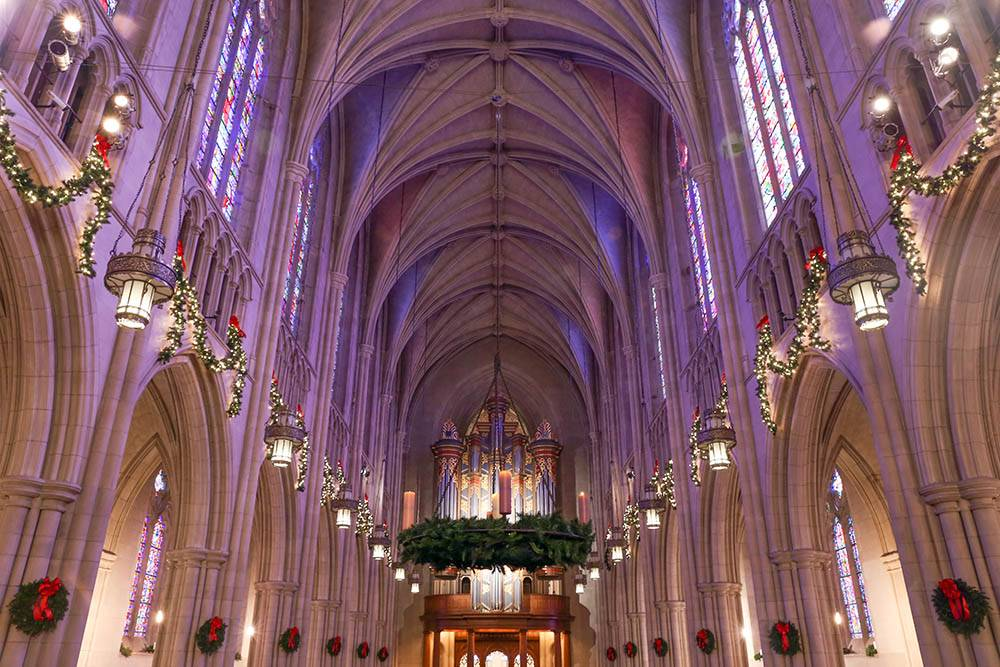 Duke Chapel Christmas Eve services are free and open to the public