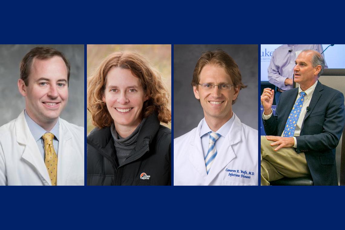 Duke experts: Andrew Godfrey, Lisa Campbell, Cameron Wolfe and Rett Newton.