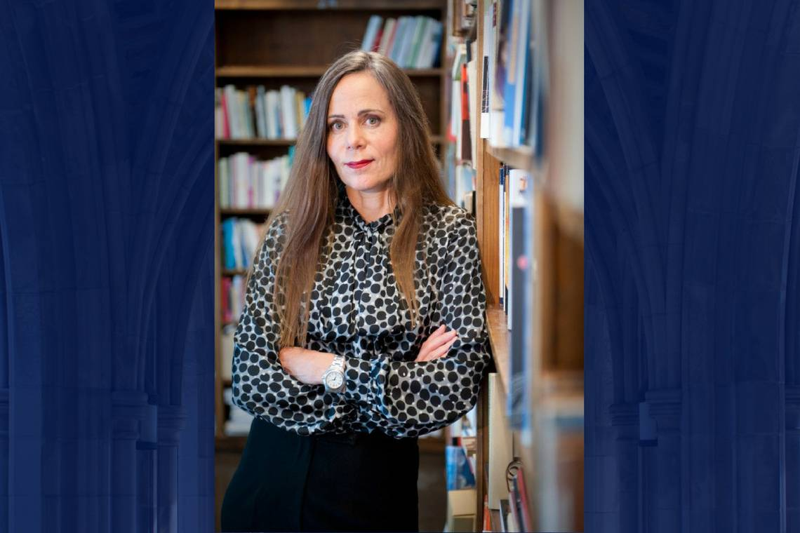 Sara Danius returns to Duke as permanent secretary of the Swedish Academy.