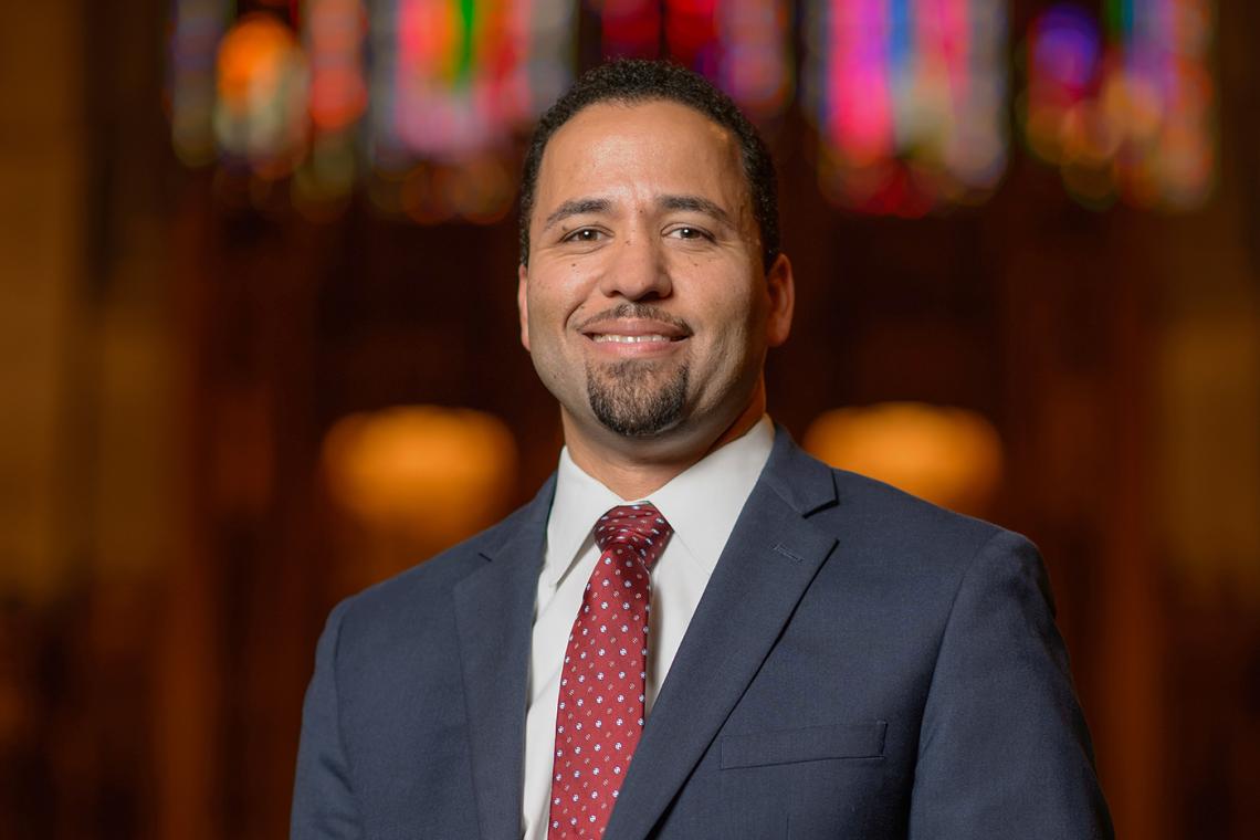 The Rev. Dr. Luke A. Powery, dean of Duke University Chapel.