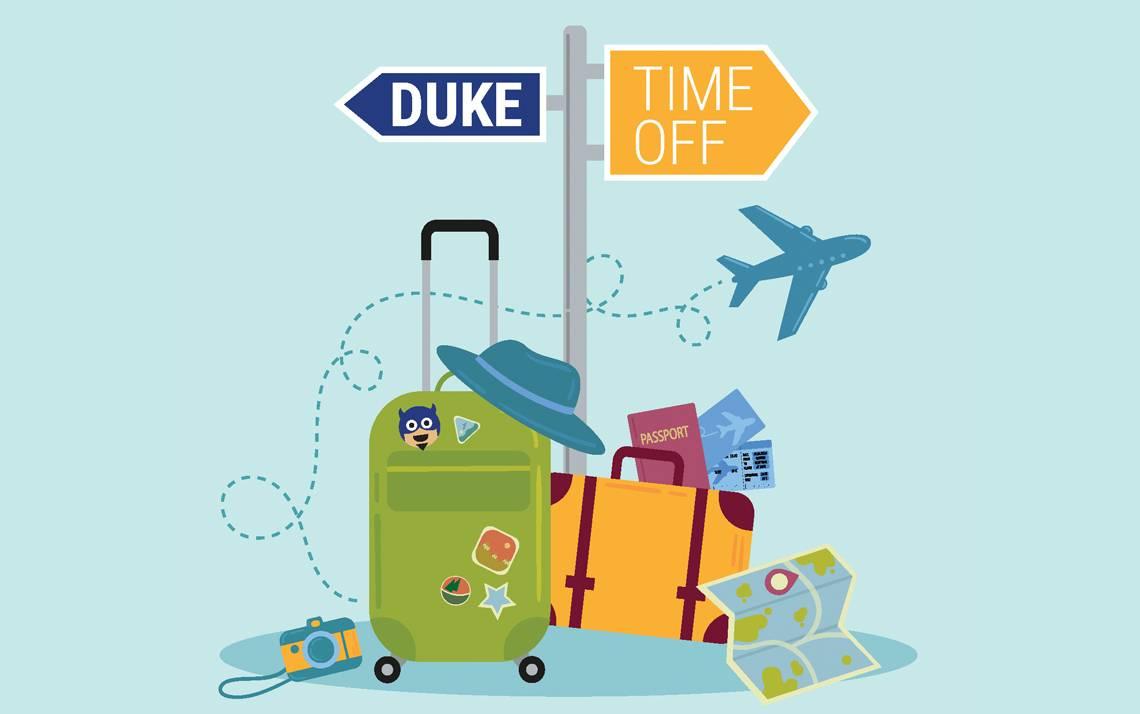 Prizes include a stay at JB Duke Hotel, dinner at the Washington Duke Inn and Duke Stores swag