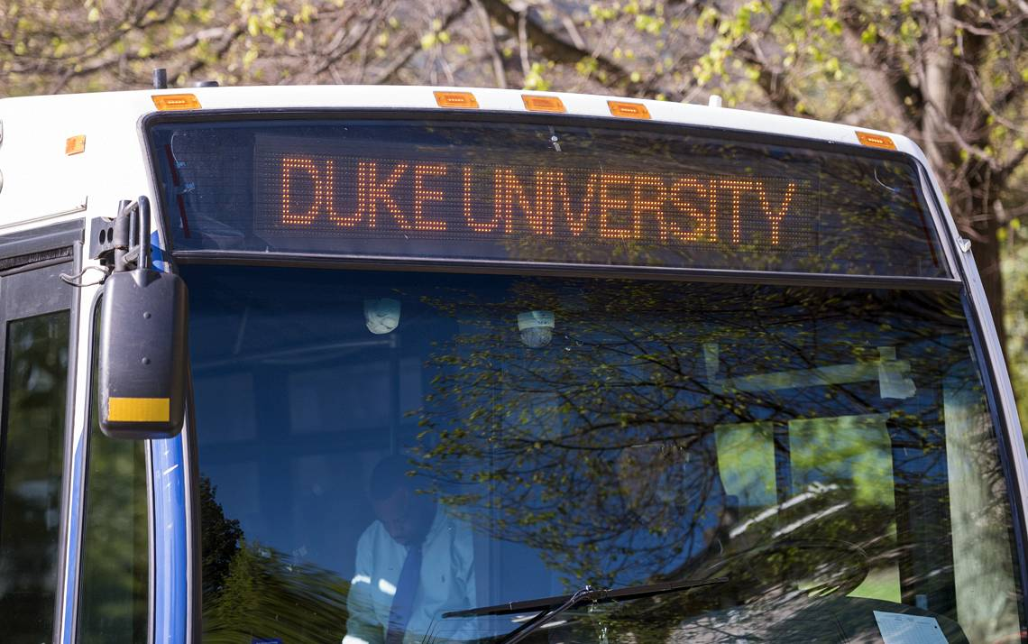 Duke will begin its summer schedule for transit buses on Monday, May 6.
