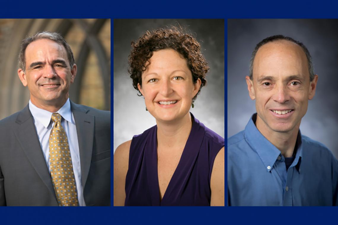 Professors Brian Murray, Kate Konschnik and Drew Shindell