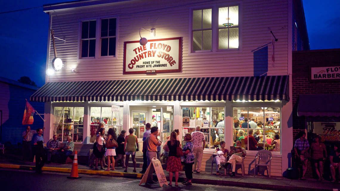 Floyd Country Store Friday Jamboree (Photo: Richard Toller, licensed under CC BY-ND 2.0)