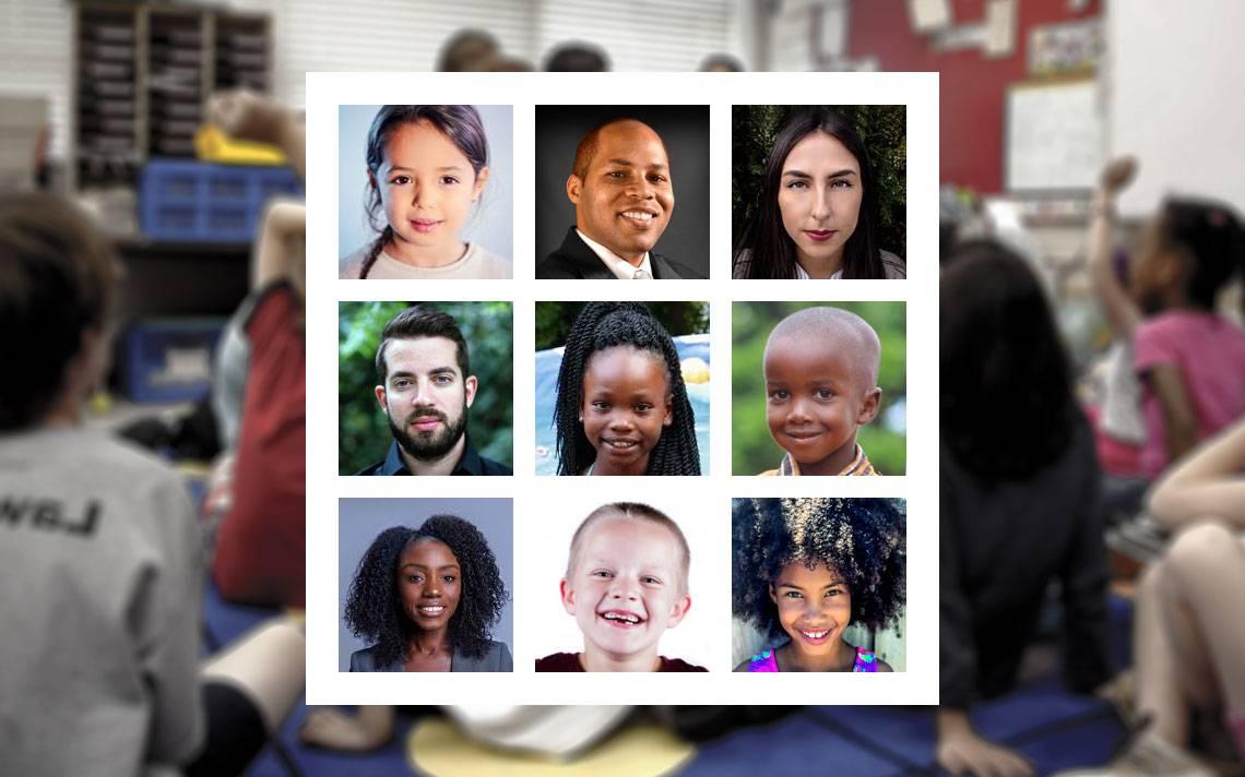 Photos of faces