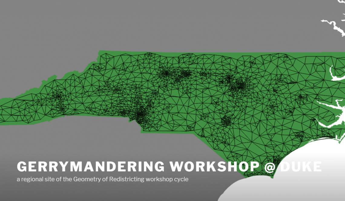 Duke to host conference on legal and mathematical aspects of redistricting. Free and open to the public, Nov. 2-5, 2017.