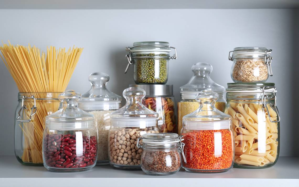Kitchen Pantry Hacks during COVID-19 Distancing.