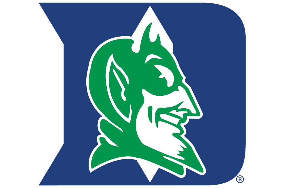The Green Devil logo symbolizes the commitment of the Duke community to sustainability.
