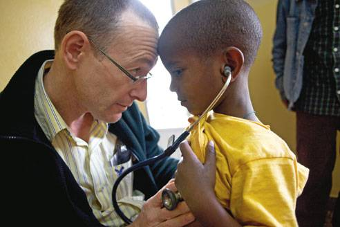 Dr. Rick Hodes has worked with the destitute in Ethiopia since the 1980s.