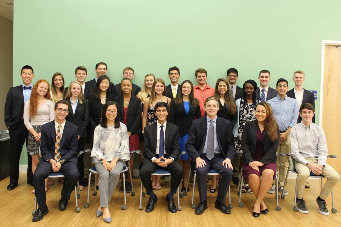 The students who lead the Duke Honor Council