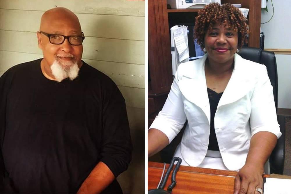 Community Leaders Jones, Belcher Receive Service Award