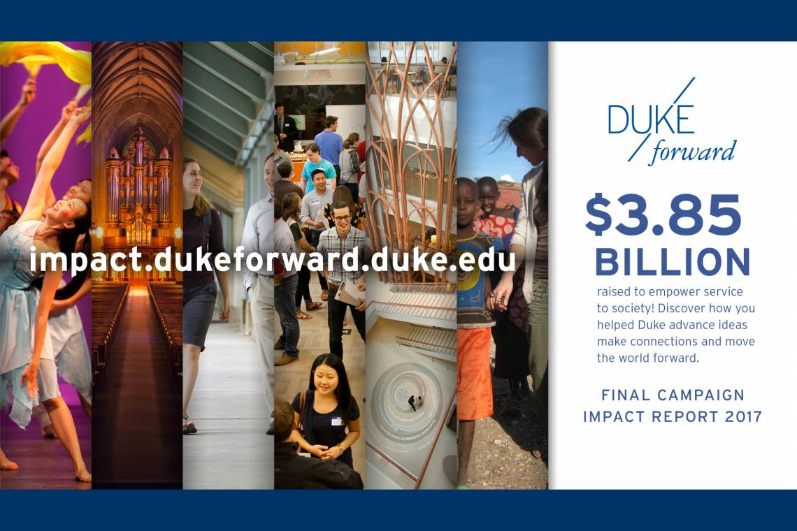 Duke Forward Campaign Impact Report