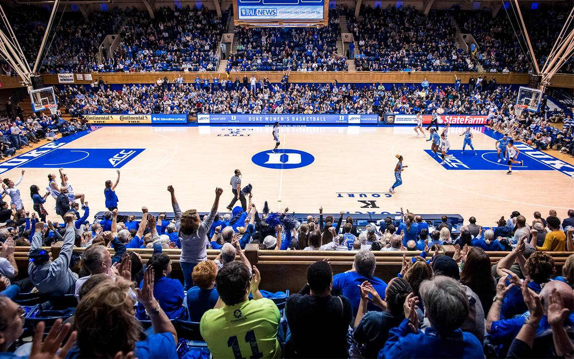 Cameron Indoor Stadium is now certified for accommodating children and adults with autism, dementia, anxiety, post-traumatic stress disorder and other similar conditions. Photo courtesy of Duke Athletics.