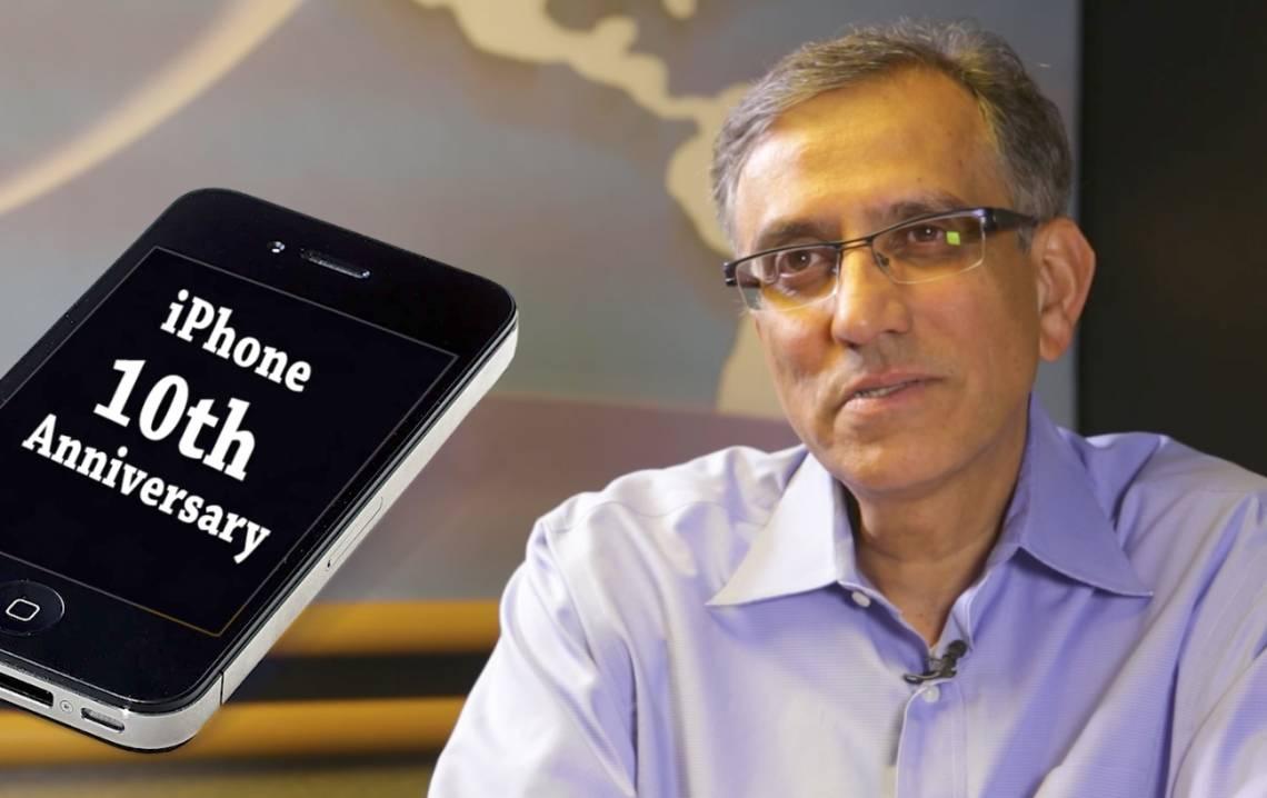 Debu Purohit on the iPhone