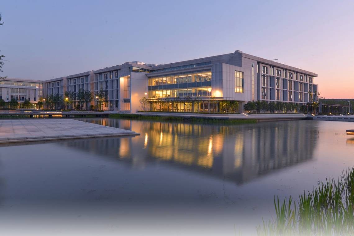 The Duke Kunshan University campus. The undergraduate degree program will launch in August 2018.