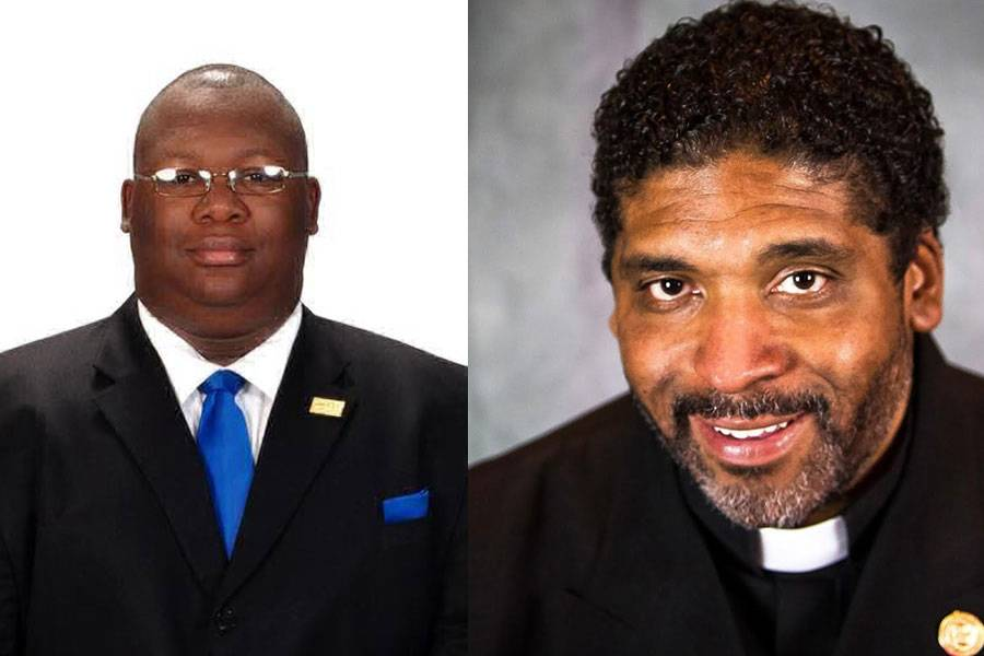 DeWarren K. Langley and Rev. William Barber