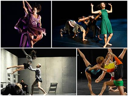 The American Dance Festival presents 24 companies and choreographers during its 81st season. Above, (starting top left, clockwise) Ballet Hispanico, Tere O'Connor Dance, Vertigo Dance Company and Ballet Preljocaj will be performing. Photos courtesy of th