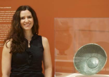 Classical Studies Professor Alicia Jimenez. Photo by Robert Zimmerman.