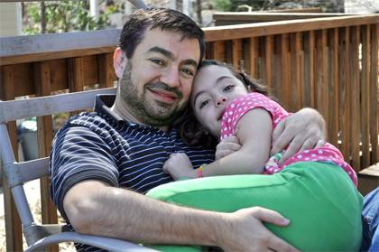 Abdullah Antepli with daughter Zainab. Photo courtesy of Abdullah Antepli.