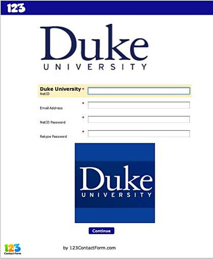 This is an example of a phishing scam. Remember: Duke (and all valid companies or organizations) will never ask for your password or account information in an email.