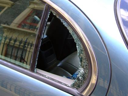 Duke employees should be vigilant when protecting personal property, which includes stowing valuables in cars. Thieves may target items left in plain view. Photo illustration by BigStockPhoto.com.
