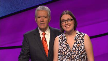 Duke senior Ezgi Ustundag competed on Jeopardy. The episode aired Oct. 1, 2015.