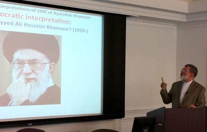 Mohsen Kadivar discusses the evolution of the leadership of post-revolution Iran.