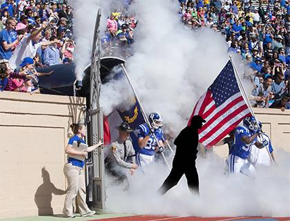 Your Duke colleague could be the one running out of the tunnel onto the field with Duke's football team. Working@Duke is accepting nominations for an honorary employee captain.