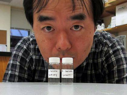 Hiroaki Matsunami led a team of scientists who systematically explored the triggers for specific odor receptors in the nose. No two people apparently smell things the same way. Photo credit - Matsunami Lab, Duke University