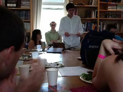 A student in Politics of Food shares his reflections on food