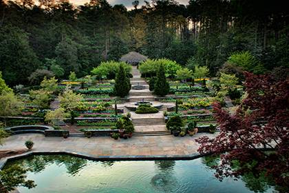 In 2014, Sarah P. Duke Gardens celebrates 75 years after the official dedication of the space in 1939. Photo by Rick Fisher.