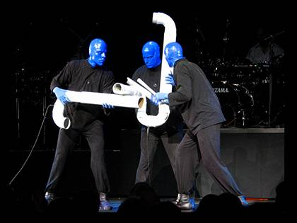 Duke faculty and staff are eligible to win a pair of tickets to see the Blue Man Group perform at the DPAC this week.
