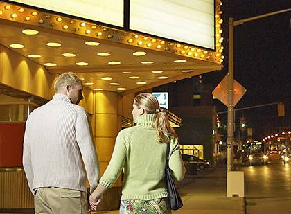 Duke PERQS program offers discounts at six local cinemas. Stock photo from BigStock.