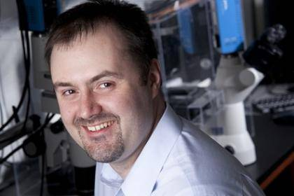 Brenton Hoffman, an assistant professor of biomedical engineering
